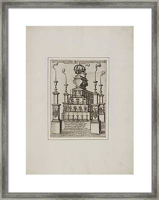 Effigy And Statue Framed Print by British Library