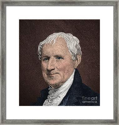 Egbert Benson, American Patriot Framed Print by Photo Researchers