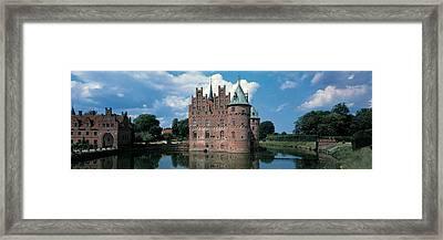 Egeskov Castle Odense Denmark Framed Print by Panoramic Images