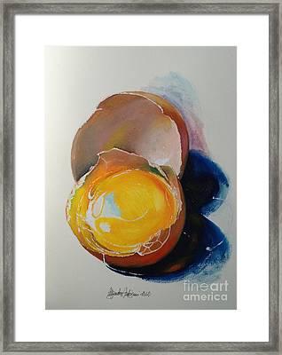 Egg.. Framed Print by Alessandra Andrisani