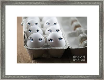 Eggs Framed Print by Juli Scalzi