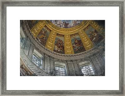 Eglise Du Dome Framed Print by Evie Carrier