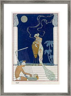 Egypt Framed Print by Georges Barbier