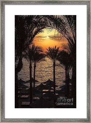 Egypt Sunrise Framed Print by Jane Rix
