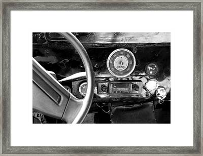Egyptian Automobile Framed Print by Laura Hiesinger