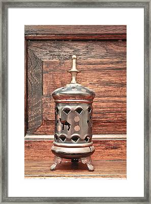 Egyptian Ornament Framed Print by Tom Gowanlock