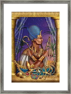 Egyptian Triptych Variant I Framed Print by Ciro Marchetti