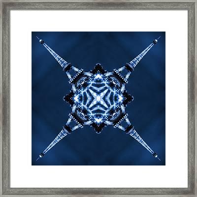 Eiffel Art 1 Framed Print by Mike McGlothlen