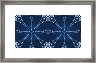 Eiffel Art 17a Framed Print by Mike McGlothlen
