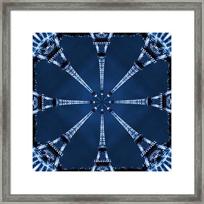 Eiffel Art 21 Framed Print by Mike McGlothlen