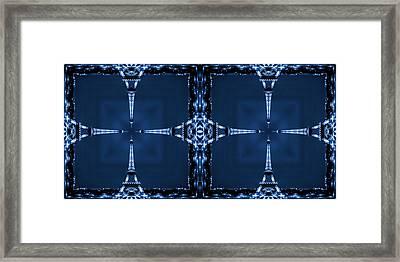 Eiffel Art 27a Framed Print by Mike McGlothlen