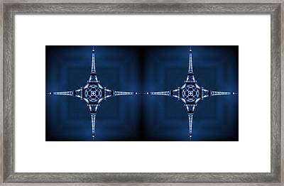 Eiffel Art 35a Framed Print by Mike McGlothlen