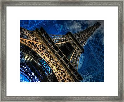Eiffel Deux Framed Print by Randy Turnbow