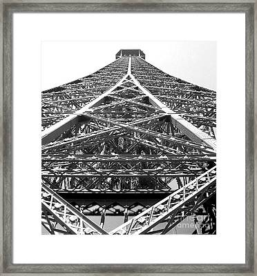 Eiffel Tower Framed Print by Andrea Anderegg