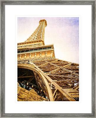 Eiffel Tower Framed Print by Edward Fielding