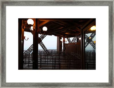 Eiffel Tower - Paris France - 011310 Framed Print by DC Photographer