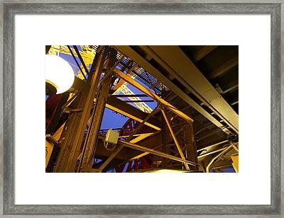 Eiffel Tower - Paris France - 011311 Framed Print by DC Photographer
