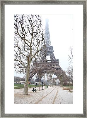 Eiffel Tower - Paris France - 011315 Framed Print by DC Photographer