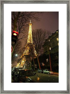 Eiffel Tower - Paris France - 011317 Framed Print by DC Photographer