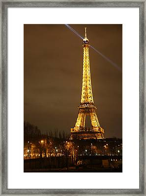 Eiffel Tower - Paris France - 011319 Framed Print by DC Photographer