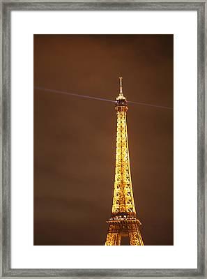 Eiffel Tower - Paris France - 011330 Framed Print by DC Photographer