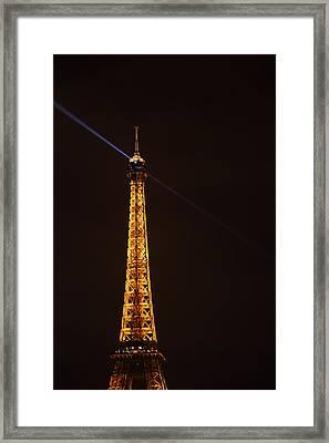 Eiffel Tower - Paris France - 011333 Framed Print by DC Photographer