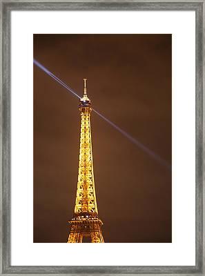 Eiffel Tower - Paris France - 011334 Framed Print by DC Photographer