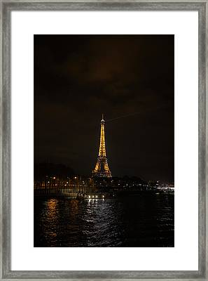 Eiffel Tower - Paris France - 011336 Framed Print by DC Photographer