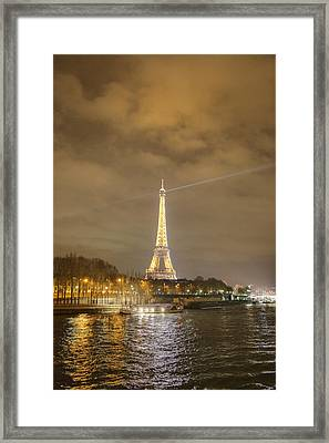Eiffel Tower - Paris France - 011337 Framed Print by DC Photographer