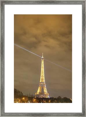 Eiffel Tower - Paris France - 011345 Framed Print by DC Photographer
