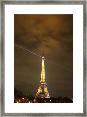 Eiffel Tower - Paris France - 011346 Framed Print by DC Photographer