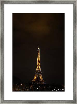Eiffel Tower - Paris France - 011350 Framed Print by DC Photographer