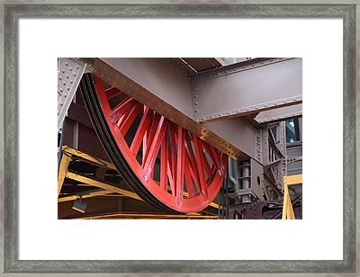 Eiffel Tower - Paris France - 01138 Framed Print by DC Photographer