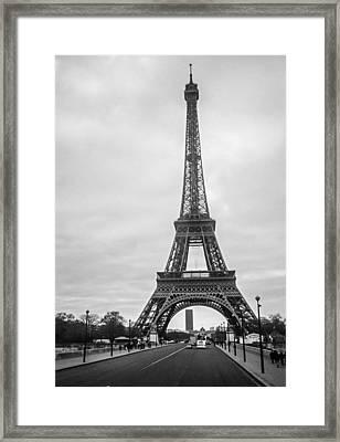 Eiffel Tower Framed Print by Steven  Taylor