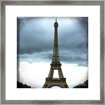 Eiffel Tower. Tour Eiffel. Paris Framed Print by Bernard Jaubert