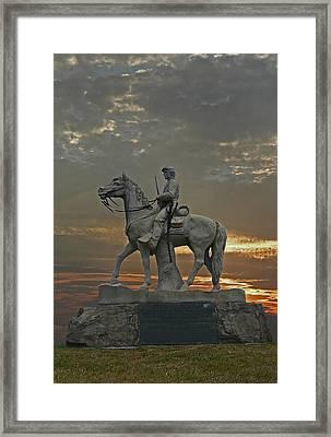 Eighth Pennsyvania Cav Framed Print by Skip Willits