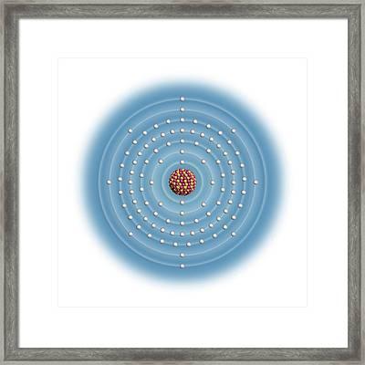 Einsteinium Framed Print by Carlos Clarivan