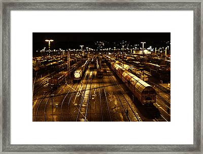 Eisenross Framed Print by Barbelotta