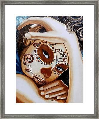 El Amor Que Siento Por Vosotros Es Intemporal Framed Print by Al  Molina