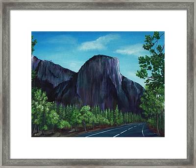 El Capitan Framed Print by Anastasiya Malakhova