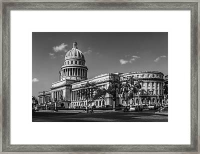 El Capitolio Framed Print by Erik Brede