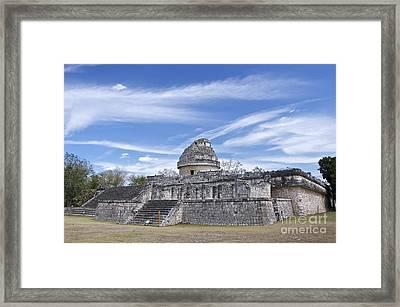 El Caracol Framed Print by Sean Griffin