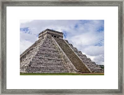 El Castillo Framed Print by Adam Romanowicz