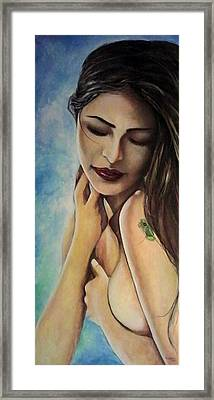 El Coqui Framed Print by Ramon Lopez Collazo