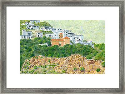 El Golco Framed Print by John Bray