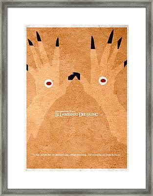 El Laberinto Del Fauno - 2 Framed Print by Ayse Deniz