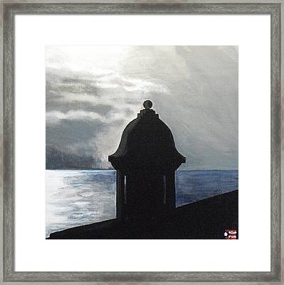 El Morro 2 Framed Print by Melissa Torres