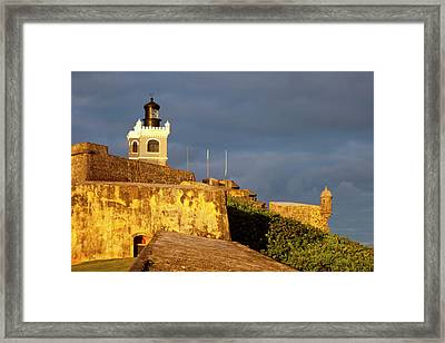 El Morro Fort In Old San Juan, Puerto Framed Print by Brian Jannsen