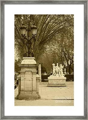 El Prado Madrid Framed Print by James Brunker