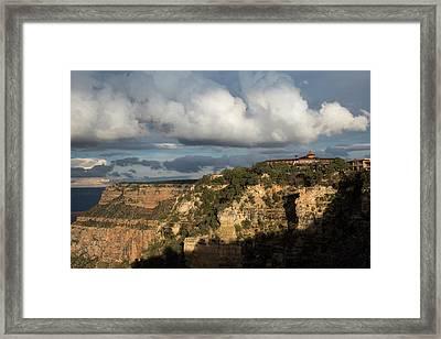 El Tovar Hotel Framed Print by Jim West